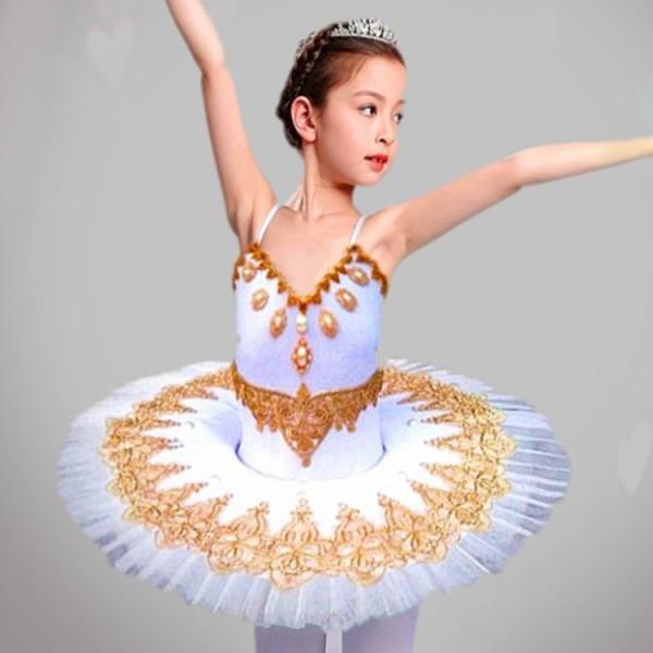 23896a4c6e01 Children s Ballet Tutu Dress Skirt Little Swan dance skirt princess skirt  ...