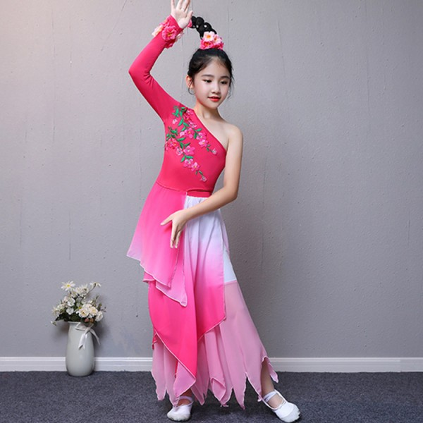 c35e83b2c24e Children s Chinese folk traditional classical ancient dance costumes ...