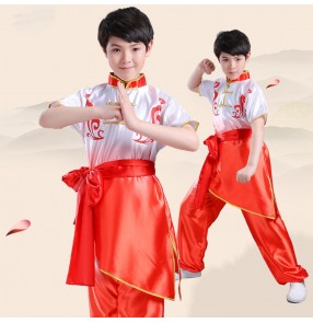 Children's Chinese Kung Fu taichi Performance uniforms Martial arts competition training martial arts Tai Chi clothing