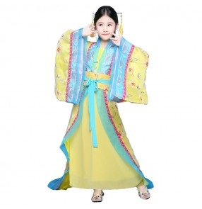 Chinese folk dance costumes ancient traditional stage performance drama Halloween party fairy princess cosplay robes dress