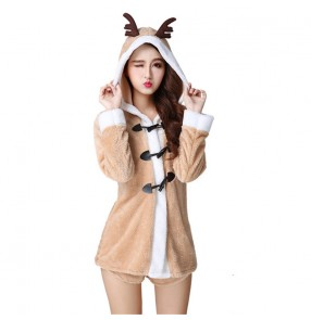 Christmas stage performance costumes Elk dress Christmas costumes Nightclub ds costumes Women photos shooting drama film cosplay Christmas costumes