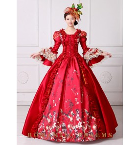 European-style palace Drama cosplay costume for women girls stage play model performance dress evening party banquet ball makeup dress skirt