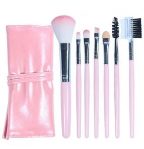 Eyeshadow Brush Set Makeup Brush Beginner Makeup Tool Lips Nose Eyebrows blush Loose Powder Brush 7pcs