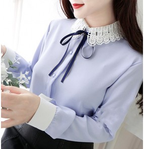 false collar detachable collar Chiffon Fake Collar Women's girls half blouses Shirt Fake Collar Hollow Fake Collar White Shirt Decorative Collar