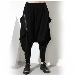 Fashion loose harem pants  hiphop street dance pants for unisex baggy pants for women and men