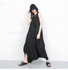 Fashion plus size Baggy jumpsuits for women harem wide leg causal loose style rompers personality overall pants for female