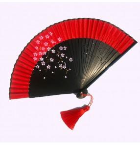 Flamenco Spanish bull dance fans for women traditional Chinese kimono dance fans