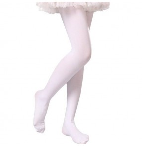 Girls ballet jazz princess modern jazz dance leggings panty hose tights stockings