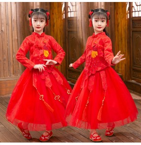 Girls chinese hanfu china folk dance costumes ancient traditional classcial dance anime drama fairy cosplay qipao princess dresses