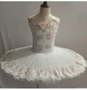 Girls kids ballet dance dress children tutu skirts ballerina stage performance ballet dance costumes