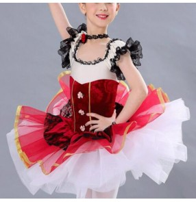 Girls kids European palace style ballet dance dress stage performance modern dance ballet dance costumes