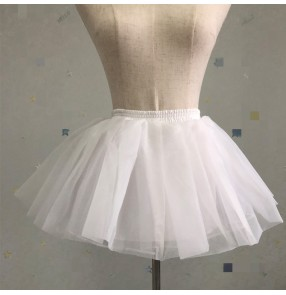 Girls petticoat lolita pincess dress stage performance cosplay dress underskirt for kids