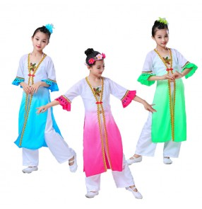 Girls Vietnamese national minority drama cosplay costumes Oriental dress stage performance cosplay dresses costumes