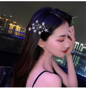 Hairpin side clip for girl side bangs clip Korean fairy Sen super fairy duckbill clip photos video shooting hairpin headdress