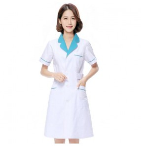 Hospital Doctors Medical top Short-sleeved Uniforms Suits Dental Clinic Beauty Salon Workwear Clothes nursing tops