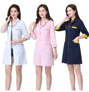 Hospital Nurse uniform doctor tattoo beautician beauty salon long sleeve short sleeve surgical doctor pharmacy overalls