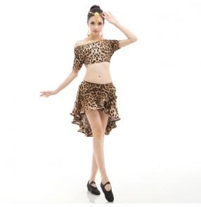 Adult Latin dance dancing costume women silt tassel latin dance dress fringe salsa dress