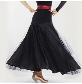 Ballroom Dance big skirted waltz skirt