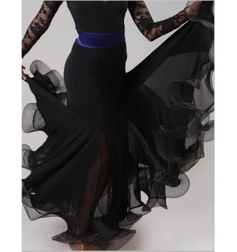 a6dfe7b5c Ballroom Dance Competition Ballroom Dance Skirts Waltz tango Foxtrot  Quickstep Viennese Waltz Skirts