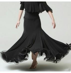Ballroom Dance Competition Ballroom Dance Skirts Waltz tango Foxtrot Quickstep Viennese Waltz Skirts
