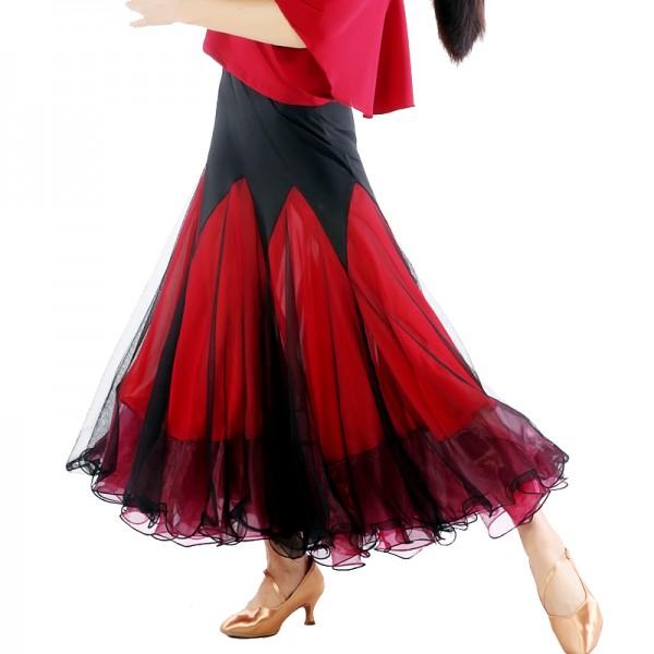 95e43f2bd Ballroom Dance Competition Dresses Ballroom Dance Skirts Waltz tango Foxtrot  Quickstep Viennese Waltz skirt flamenco