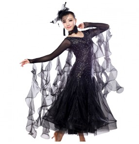 Ballroom dance competition dresses flamenco dresses free shipping beyonce costume waltz