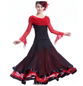 Ballroom Dance Dress Women Ballroom Dancing Dress Waltz Dance Dress Tango flamenco dress flamenco dress