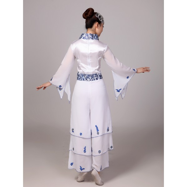 98cab1ee9 Blue and white chinese Cheap Discount Women Ladies Ancient Chinese ...