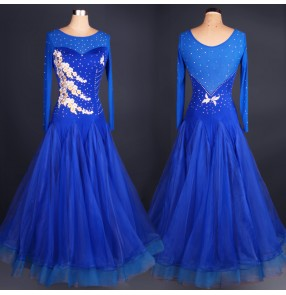 Blue Waltz Dance Dress