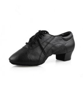 Boy's men's latin ballroom dance shoes