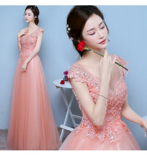 Fashion Clothing : Coral Pink Colored Women's Ladies