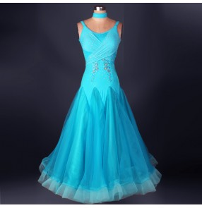 Diamond Ballroom Dance big hem Dresses