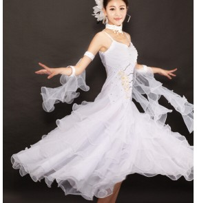 Diamond Modern Dance Dress Ballroom Dance Dress
