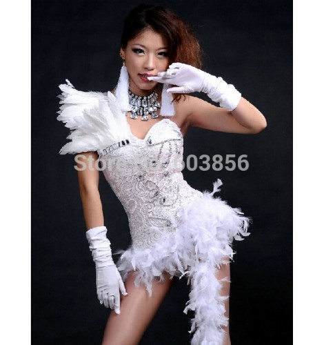 1d89e493a Feather ds costume dance jazz black and white color block formal ...