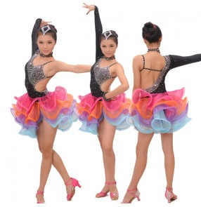 Girl Latin Dance Dress Clothing Girls Salsa Dresses