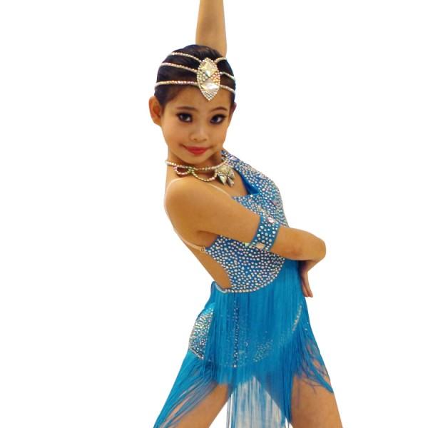 9d7034153790 Girls ballroom dress Samba Dance Latin Salsa Dresses Dance Costumes  flamenco dress for children latin dance dresses