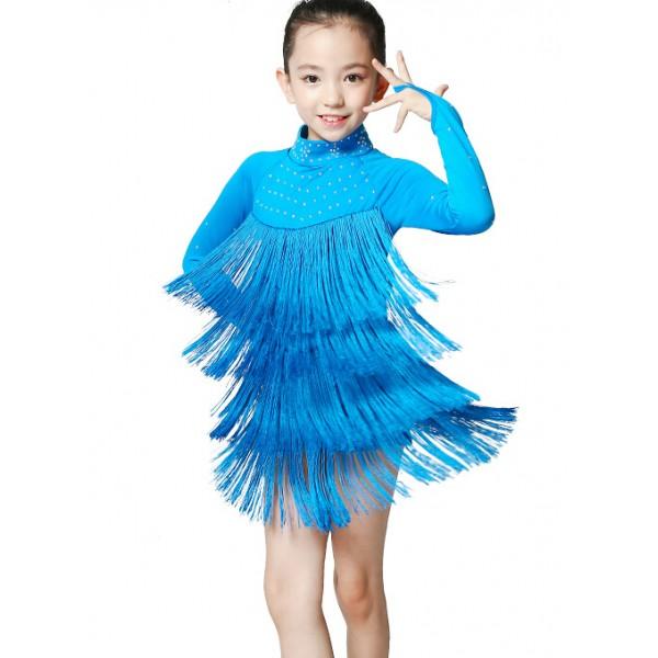 girls-children-kids-sky-blue-fuchsia-diamond-long-sleeves -professional-exercise-salsa-chacha-latin-dance-dresses-2298-600x600.jpg ad1fb2fbb326