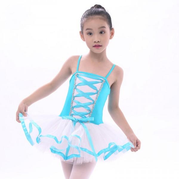 e699092df2 Girls' kids children leotard tutu skirt ballet dance dress costume