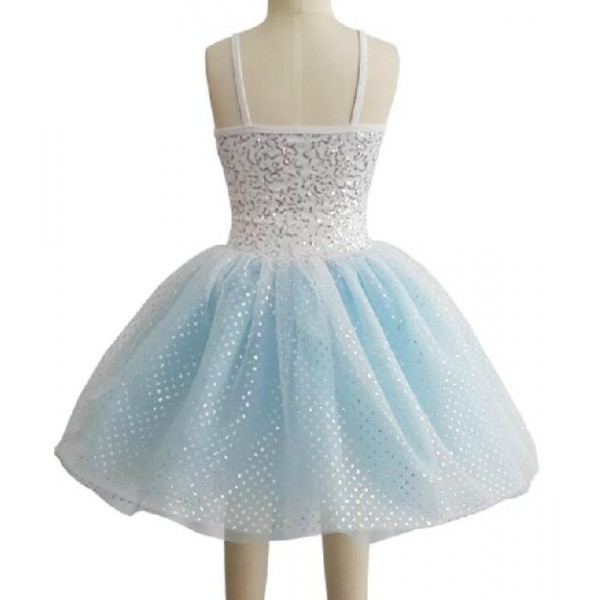 light blue tutu skirt ballet dress
