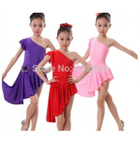 Girls Latin Dress Kids Latin Dance Dress Children's Latin Dance costume Ballroom