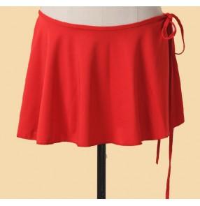 Girls mini latin dance skirt