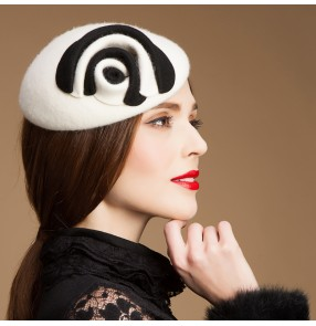 Ivory fedoras Sinamay Fascinator Fedora Hat wool