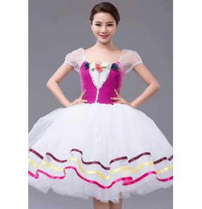 Kids girls adult ballet dancing dress leotard tutu skirt  custom size made