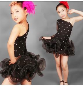 Latin Dance Dress Children Latin Dress Samba Dance Latin Salsa Dresses Dance Costumes Clothes for Child Girls Dance Dress