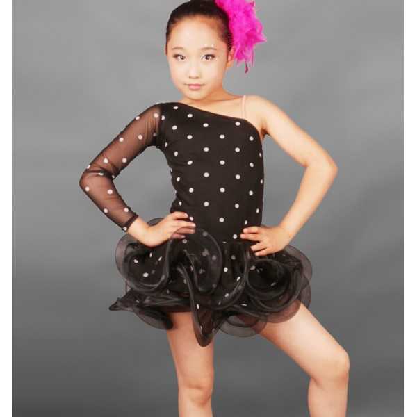811a0c5f51 ... Girls  best wholesaler 708e7 a9d8a Latin Dance Dress Children Latin  Dress Samba Dance Latin Salsa Dresses Dance ...