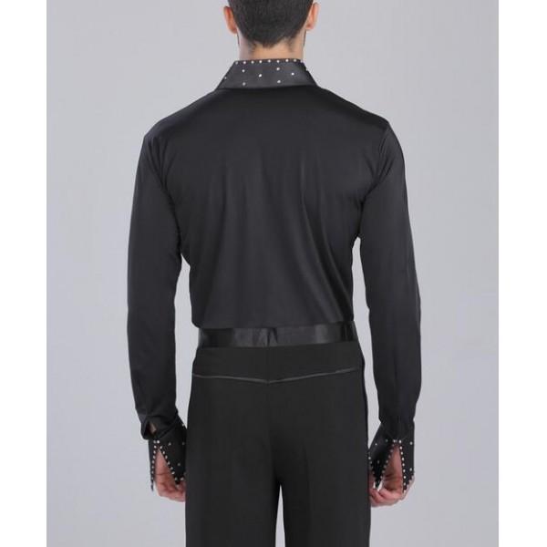 Mens Latin Dance Shirt 21