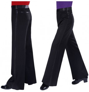 Men's Rhythm Ballroom Latin Salsa Dance Pants
