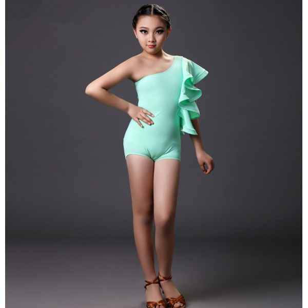 Mint green orange colored spring summer competition professional girls