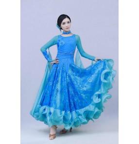 Modern Waltz Tango Ballroom Dance Dress, Smooth Ballroom Dress, Standard Ballroom Dress