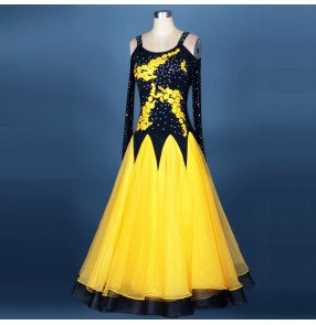 New beading Waltz Competition Dress